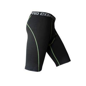 Pantalones de compresión para hombres Entrenamiento Deportes Fitness Pantalones cortos Envoltura hidratante Secos Camuflaje informal Pantalones cortos Medias