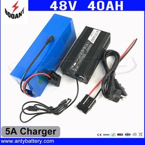 1800W 48V 40Ah eBike Battery 48V Built-in 50A BMS For Bafang Motor Lithium Battery 48V 18650 Cell With 5A Charger Freeshipping