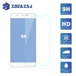 Vidrio templado superior para Samsung Galaxy s6 Grand Prime protector de pantalla HD película protectora 50pcs / lot