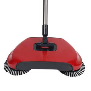 Lazy Automatische Hand Push Sweeper Besen Haushalt Bodenreiniger Doppel Sweeper Staub Reiniger Dustpan Besen Mopp