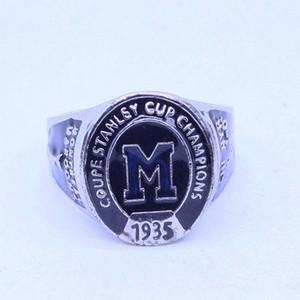 1935 년 몬트리올 마론 쿠폰 스탠리 컵 세계 챔피언 반지