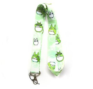 Wholesale Mixed 10 pcs Popular Cartoon My Neighbor Totoro Mobile phone Lanyard Key Chains Pendant Party Gift Favors 0074