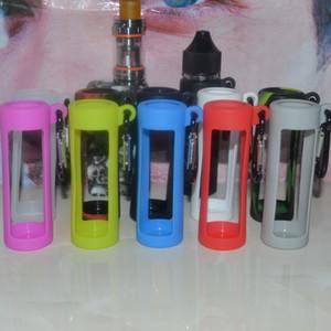 ELiquid Bottles Tragetasche Chubby Plastic Dropper Flaschenetuis Einhornflasche Silikonhülle für 60ml E-Saftflaschen