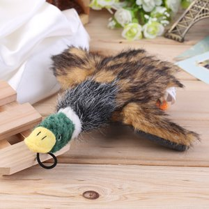 2pcs 2016 Classic Duck Toys Stuffed Squeaking Duck Toy Plush Honking Duck for Pet Chew Squeaker Squeaky toy