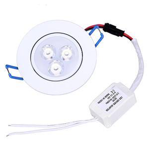 اسلوب جديد 9W الصمام مصابيح السقف النازل AC85-265v دافئ أبيض بارد أبيض أضواء السقف LED للمنزل CE بنفايات