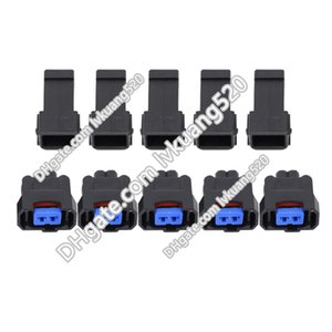 5 Sätze weibliche und männliche 2 Pin versiegelte Auto Connector Assy für Honda NH1 Injector DJ70222-2.2-11 / 21