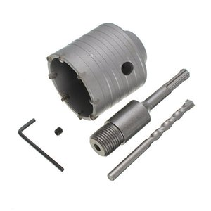 65 mm SDS Plus Shank Hole Saw Cutter Concrete Cement Stone Wall Broca con llave