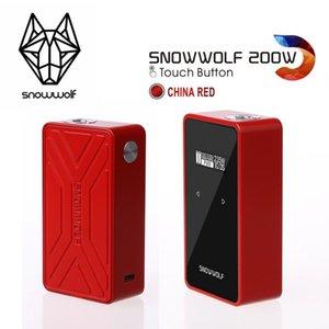 100% Authentische Snowwolf 200W C Touch Mod Touch-Taste 10W-235W NI TI SS316 Temperaturregelung 4 Farben VS Q-Box G-Priv T-Priv GX350