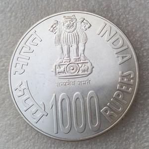 2010 Inde 1000 Roupies distribuées pièces de monnaie indiennes de haute qualité