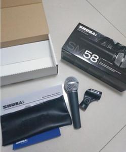 Spedizione gratuita originale SHUBA sm58lc wired microfono microfono rete K strumento di registrazione vocale microfono