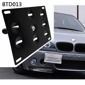 RASTP - Parachoques delantero de remolque Licencia gancho de la placa soporte del montaje del sostenedor para BMW Fit / Jazz 08 Yaris Mitsubishi Lancer LS-BTD013
