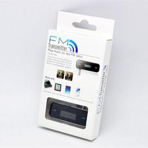 Wholesale Cell Phone FM Transmitter 3.5mm For Radio Station Car MP3 Player Music Radio Adapter Handsfree Wireless FM Modulator