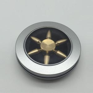 Fidget Spinner EDC Toy Premium Titanium mão Spinner alivia o redutor de estresse, aliviando o estresse, foco ansiedade alívio, matando o tempo e TDAH