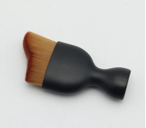 Espoir Contour Foundation Escova S Forma Creme Pincéis de Maquiagem Pó Solto Pincel Multifuncional Make Up Brushes Curvo Rosto Escova