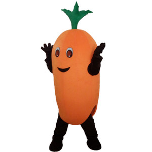 Trajes de la mascota de las verduras de las frutas Conjuntos completos Árbol de navidad de la calabaza Traje Tamaño de los niños adultos Vestido de la fiesta de lujo de Halloween con alto