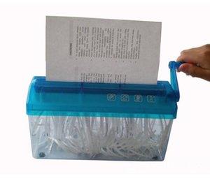 Ücretsiz Kargo Marka A4 Mini multi-fonksiyonel Manuel Kağıt Parçalayıcı Yeni Mini Masaüstü Manuel Kağıt Parçalayıcı Için El Kesme Kağıt