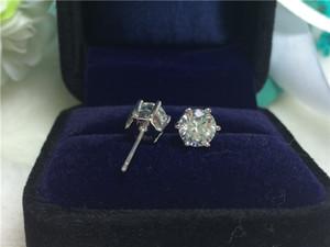 Orecchino placcato in oro 18 carati placcato oro 18 carati / orecchini con diamanti sintetici per orecchini da donna con diamanti sintetici