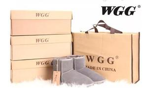 Supply Drop Shopping New WGG moda donna ragazze stivali da neve stivali invernali scarpe calde di alta qualità originale pelle pelliccia stivali eur36-43 dimensioni
