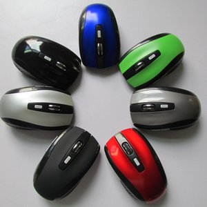 2017 hot selling USB Optical Wireless Mouse 2.4GHZ usb receiver For Computer PC Laptop Desktop 7500 mice 7 colors