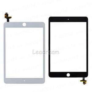 30 pcs painel de vidro da tela de toque original com digitador com conector de ic para ipad mini 3 preto e branco livre dhl