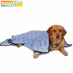 All'ingrosso Pawz Road Large Dog Coperta Asciugamano per cani Colorful Dot Coperta per animali domestici Puppy Cat Mat Lovely Kitten Bath Towel Quilt