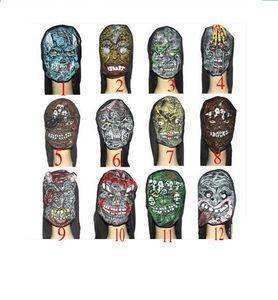 2017 New Halloween Horror Zombie Mummy Mask Terror Decoration Props Eco-friendly Latex Masquerade Party Masks
