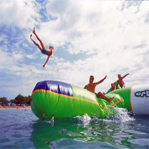 (magasin spécialisé) Blob Bouncing Bag sac de saut gonflable jouant avec de l'eau trampoline water park jouets aquatiques jouant en été
