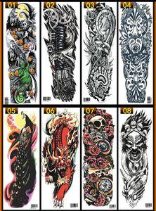Mulheres Homens Unisex Tatuagens Temporárias Impermeáveis Adesivos Corpo Art Tattoos Falsos Transferência Adesivos Sexy Braço adesivos Removíveis 82 Tipos