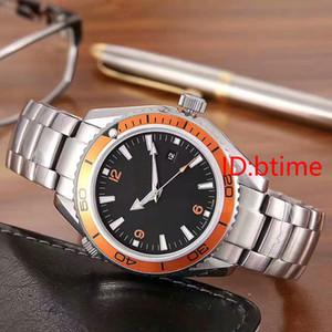 Мужские часы мужские сапфира коаксиальное 42мм автоматические механические планеты нержавеющей стали Мужские часы Мужские часы Relogio Мужчина для