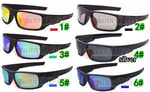 MOQ = 10 UNIDS 6 colores Precio de fábrica hombres más vendidos cigüeñal deporte gafas de sol unisex acetato uv400 gafas para mujer envío gratis