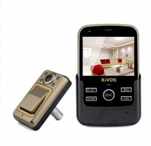 3,5-дюймовый цифровой дверной звонок Дверной звонок ночного видения дверной глазок экстра-большой диапазон видения для дома