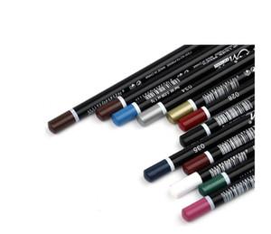Colorfull / Черный водонепроницаемый макияж подводка для губ Карандаш Тени для век / Liner Сочетание Косметика 12 цветов