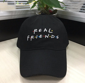 2017 Real Amigos Gorras de Béisbol Curved Chapeau Visor Sombreros de Papá Casquette Marca Bone Sombreros de Moda Gorras