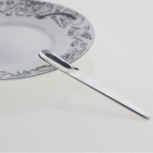 Mango largo de acero inoxidable agitación recta café espresso cuchara helado postre cucharada mezcla cucharillas cocina herramienta ZA3469