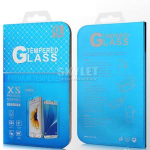 Vidrio templado para iPhone XS MAX XR 8 7 PLUS 6S PLUS NUEVO Película Protector de pantalla de iPhone 9H 0.33mm para Metropcs J7 Prime con paquete minorista