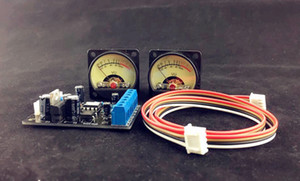 Freeshipping Audio Amplificador de potencia Panel VU medidor Nivel DB DB Encabezado + placa de controlador Módulo DIY