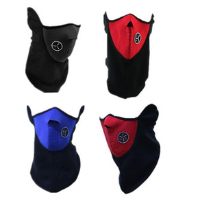 Neoprene pescoço Meia cara esqui Mask Outdoor Sports Ciclismo Motorcycle mascarar Domire Unisex Dustproof Windproof Meia cara capa