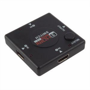 تبديل حار حار البسيطة ميناء 3 HDMI الجلاد HDMI الفاصل ميناء HDMI لHDTV 1080P مقاطع فيديو بالجملة