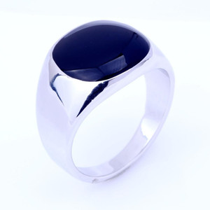 Men's Rings Fashion Jewellery Austria for Men 18K Gold Silver Plated Fashion Wedding Stainless Steel Rings