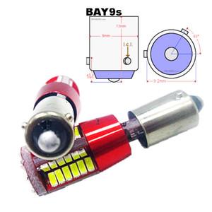 H21W BAY9S 64136 супер яркий 57 SMD 4014 LED резервного копирования автомобиля фары авто тормоза лампы задний противотуманные фары 12 в красный белый 2 x