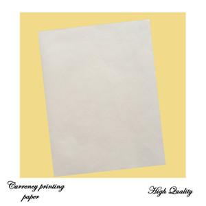 enlace printinng% algodón de papel 75 25% lino almidón libre con fibra de rojo y azul impermeable tamaño de papel A4 de color blanco