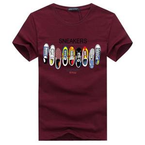 Горячие продажи новая мода мужская 3D печать футболка лето с коротким рукавом футболки топы, S-5XL,плюс размер бесплатная доставка