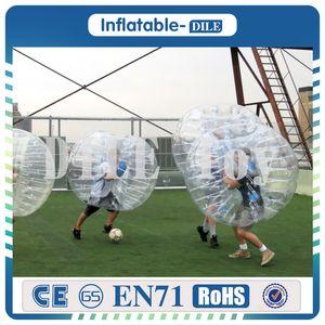 0.8 mm PVC 1.5 m Air Bumper bola corpo Zorb bola bolha futebol, bolha futebol Zorb bola para venda