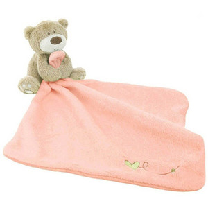 Ame tanto el desarrollo del blankie oso suave bebé baberos Toalla juguete regalo recién nacido