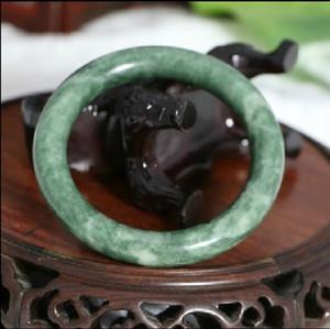 De haute qualité en gros bracelets de jade grade un bracelet de jade naturel pur naturel