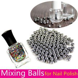 Nail Polish Mixing Balls 1 8'' (3.175mm) Stainless Steel Balls Agitator for Glitter Polish Nail Art Tool