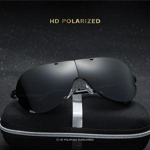Hommes de mode Lunettes De Soleil Polarisées pliage sans cadre classique de pêche conduite en plein air Plage lunettes de soleil foncé lunettes de soleil livraison gratuite