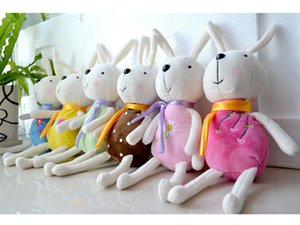 2017 HIT! Fabrika doğrudan toptan peluş oyuncaklar Tirami tavşan tavşan tavşan bebek küçük bebek emmek ile