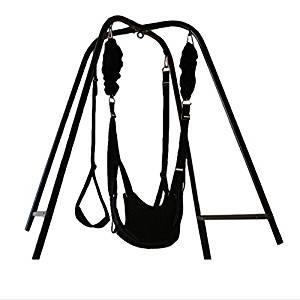 2018 New Sex Hammockwith Support Frame Elastic Bungee rope sex Swing Adult Products Swing chair Bed sex Furniture Adult Toys for Couple