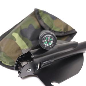 Venta caliente Multifuncional Sapper Pala Supervivencia Portátil Militar Plegable Acampar Pala Militar Chino EDC Herramientas de Emergencia